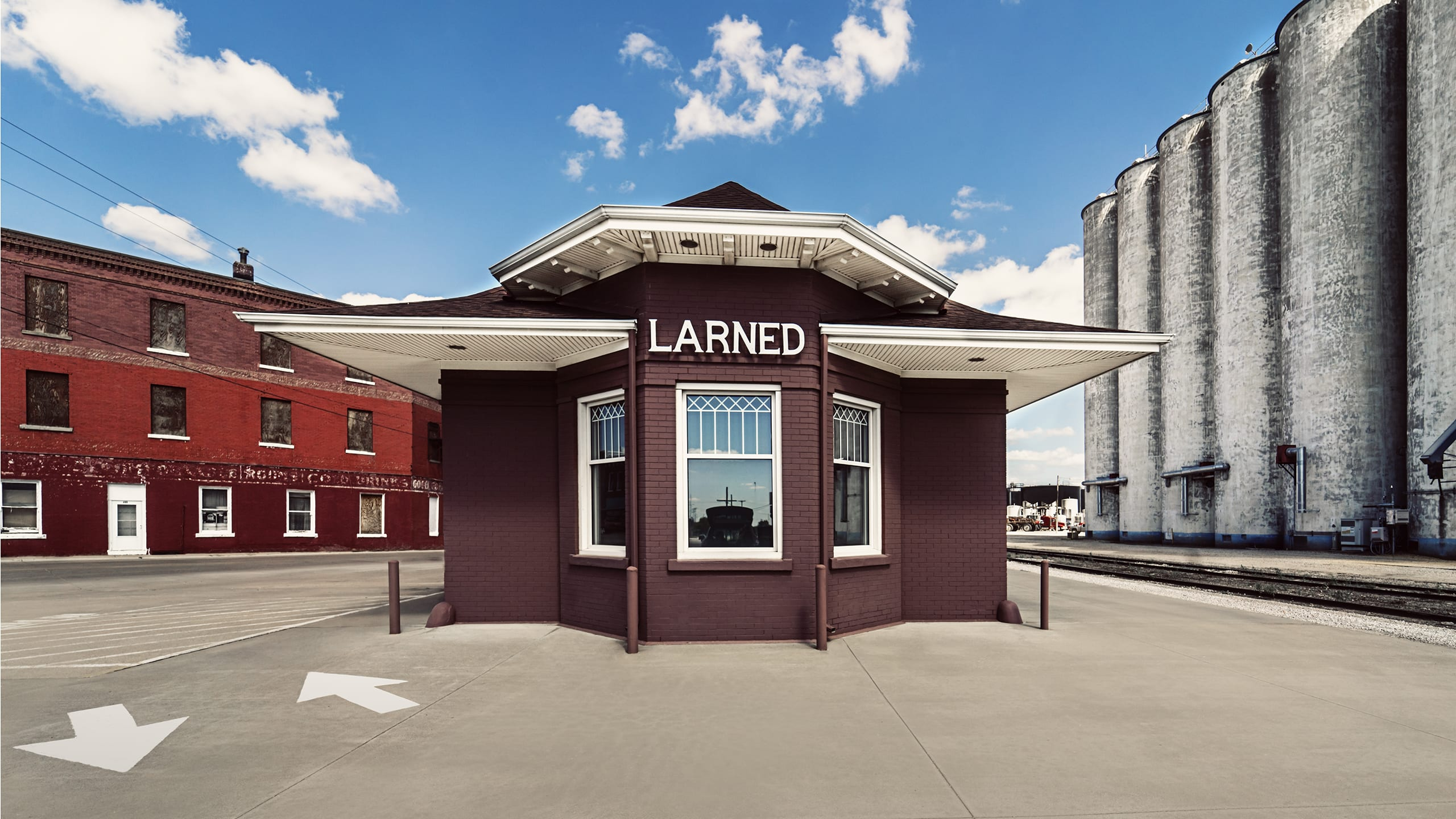 Larned town