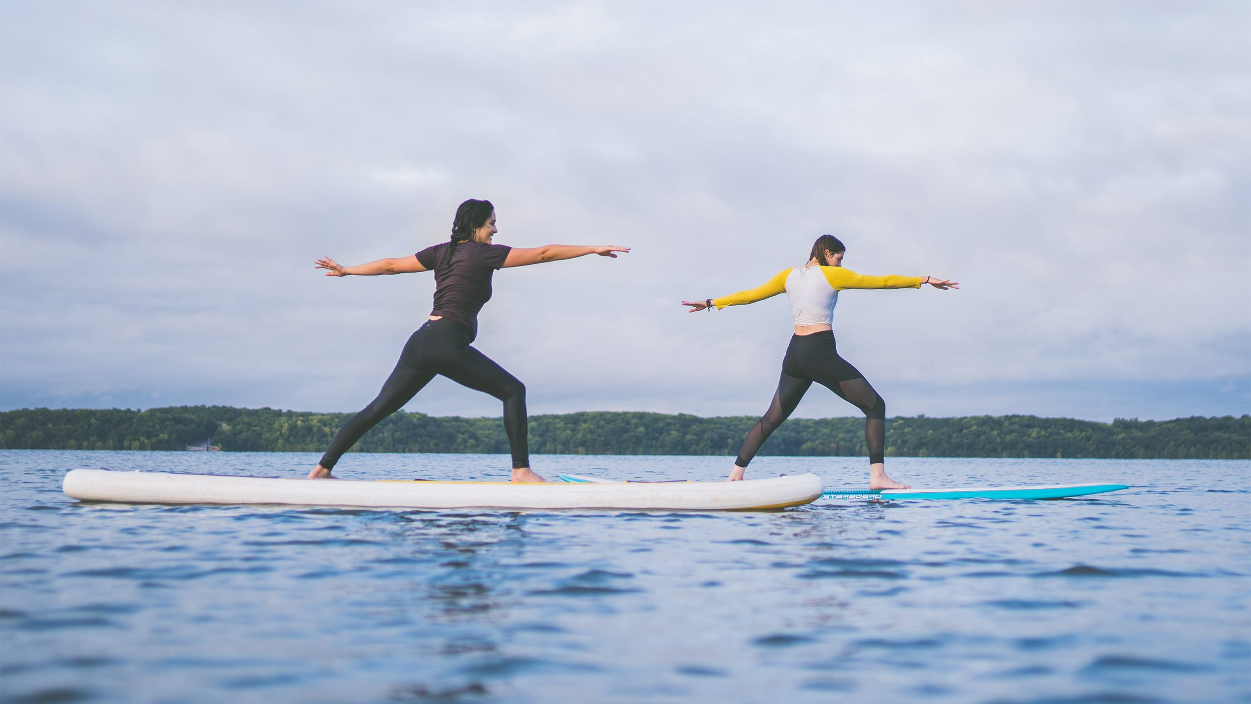 Kansas Outdoor Corps | Paddleboarding Yoga