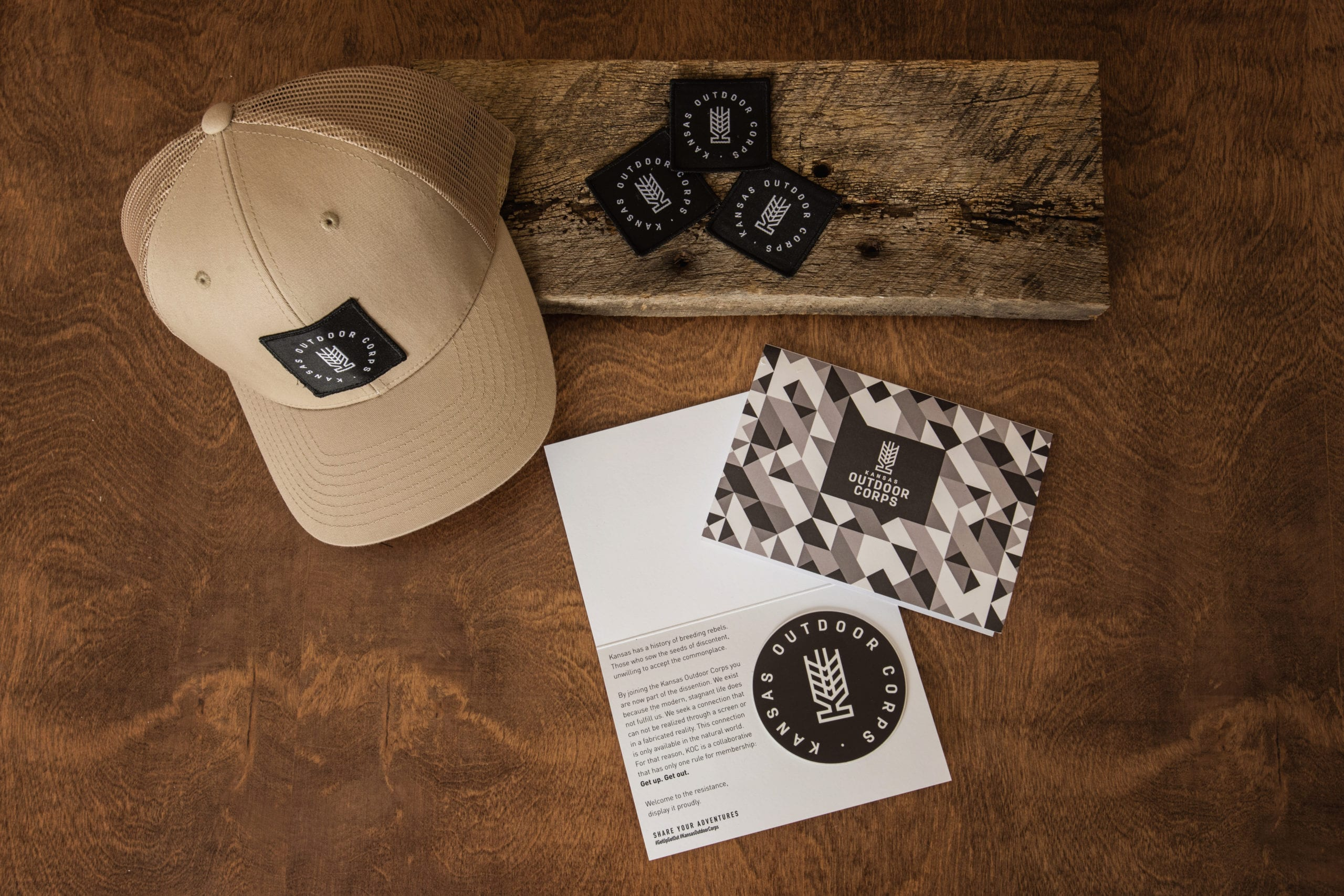 Kansas Outdoor Corps | Swag Gear