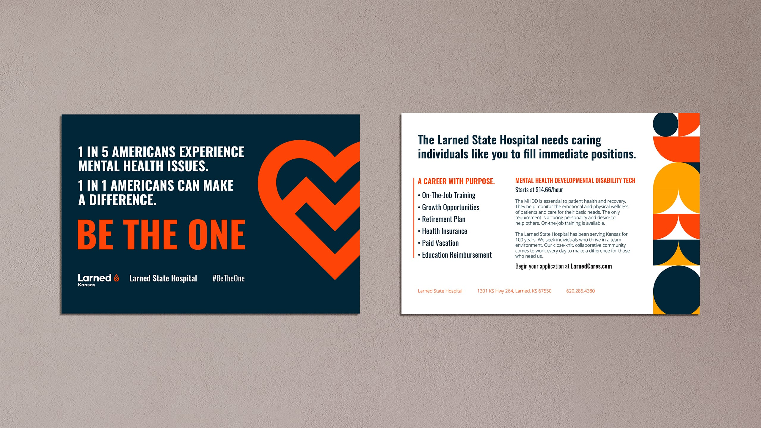 Larned Hospital Brochure