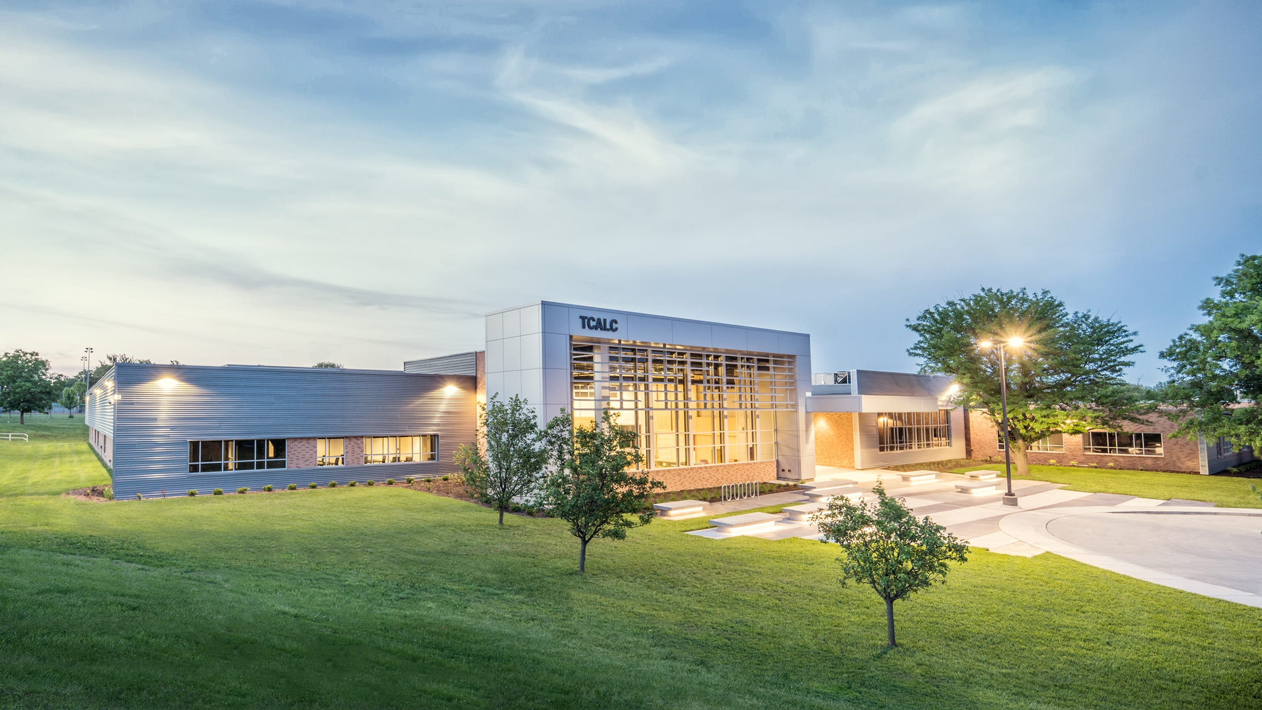 Topeka Center for Advanced Learning and Careers (TCALC) designed by Architect One
